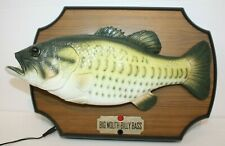 1999 Big Mouth Billy Bass Singing Fish Take Me to the River Don't Worry Be Happy