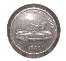 CIRCULATED 1988 50 PAISE INDIAN COIN!  (70915).....FREE DOMESTIC SHIPPING!!!!!