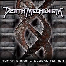 "DEATH MECHANISM ""Human Error Global Terror"" CD fast Italian Thrash Metal; slayer"