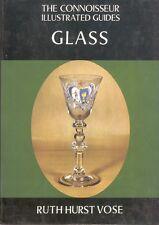 Glass C. R. Evans Ruth Hurst Vose Book HC DJ Collecting