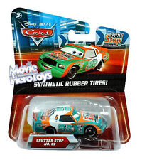 Disney/Pixar Cars Movie 1:55 DieCast Synthetic Rubber Tires SPUTTER STOP #92