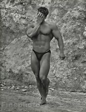 1984 MALE NUDE 11x14 BOB PARIS Bodybuilder Physique Photo Gravure Gay HERB RITTS