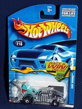 Hot Wheels 2002 Mainline Release #218 Baby Boomer Aqua Light Blue w/ 5SPs