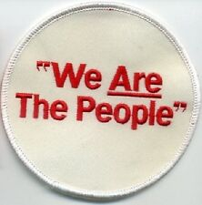 CAFÉ RACER ROCKERS 59 TON-UP-BOY OUT-LAW BIKER PATCH SERIES: We Are the People