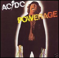 AC/DC - POWERAGE D/Rem CD ~ BON SCOTT / ANGUS YOUNG ~ ACDC 70's *NEW*