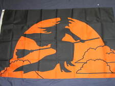 NEW 3X5 WITCH FLAG HALLOWEEN 3' X 5' SIGN BANNER F772