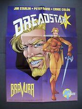 Dreadstar Promo Poster 1984 Malibu Comics Jim Starlin