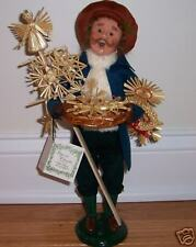 NWT Byers Choice Cries of London 2006 STRAW ORNAMENT VENDOR
