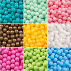 KiddyMoon New Kids Plastic Soft Play Balls for Children Ball Pits, Monocoloured