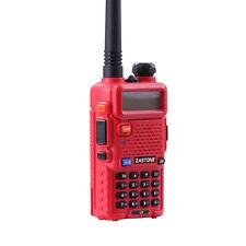 ZASTONE ZT-V8 Red Walkie Talkie Dual Band 136-174MHz & 400-520MHz ZTV8 radio