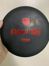 Disc Golf Discmania Evolution Primal Run Link 176G Black base Red stamp
