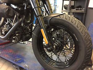 "Frontfender Harley 130-150er/16"" FatBoy Heritage Slim Softail, Fatboy 140/75 R17"