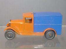 "VINTAGE Meccano / Dinky Toys modello No. 22D DELIVERY VAN 2nd VERSION ""MEGA RARE"""