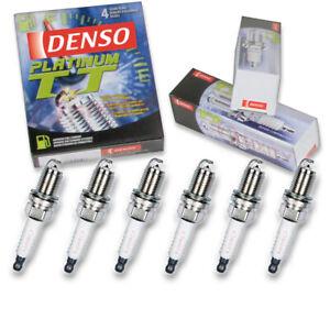 6 pc Denso Platinum TT Spark Plugs for 2010 Chrysler Town & Country 4.0L V6 jb