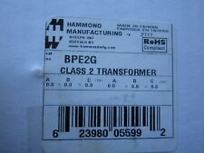 Hammond BPE2G Wall Plug In - Class 2 - 5:1 Step Down - New from Old Stock -