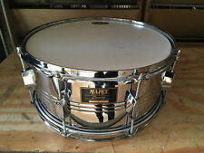 "Mapex Chromium 6.5x14"" Steel Snare Drum"