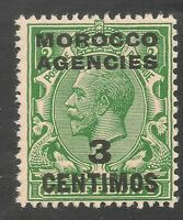 Morocco Agencies #58 (SG #128) VF MNH - 1917-23 3c on 1/2p King George V
