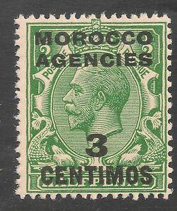 Morocco Agencies #58 (SG #128) VF MNH - 1917-23 3c on 1/2p King George V