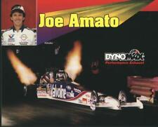 1995 Joe Amato Dynomax Top Fuel NHRA postcard