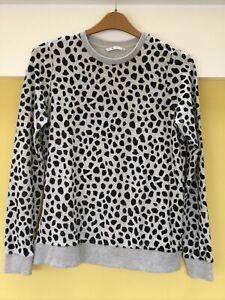 Tu Animal Print Sweatshirt Size 12