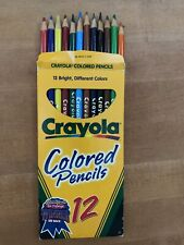 Crayola Colored Pencils Set 12 Count (Bright, Different Colors!)