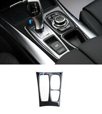 Carbon Fiber Trim For BMW X6 E71 2009-14 Center Console Gear Panel Cover Trim