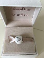 "Authentic Pandora DISNEY PARKS EXCLUSIVE ""I Love Mickey"" White & CZ Bead"
