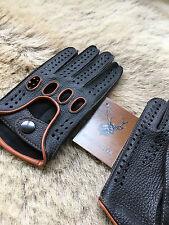 Autofahrer Lederhandschuhe Herren Fahren Top Schwarz Handschuhe Fashion