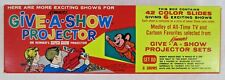 VINTAGE KENNER'S GIVE*A*SHOW PROJECTOR SLIDES -SET DD NEW OLD STORE STOCK UNUSED