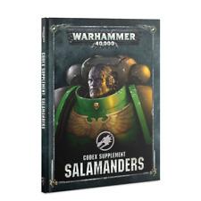 Codex: Salamanders 40K Space Marines NEW PRESALE 10/26
