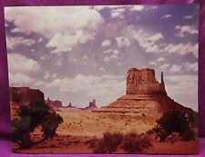 Vintage Color Photograph Monument Valley Glossy Utah Arizona