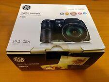 GE X400 Black 14.1MP Digital Camera with 2.7