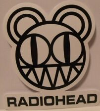 "Radiohead~Rock Band~Decal Sticker Adhesive Vinyl~2 7/8"" x 2 5/8""~FREE US Mail"