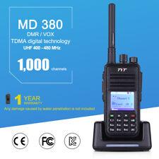 TYT MD380 Digital DMR Walkie Talkie Radio Hand-funkgerät 2-Way UHF 400-480MHz EU