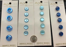 Le Chic Vintage Total 114 Buttons Different Colors Of Blue New