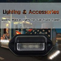 12V 3 LED REAR LICENSE NUMBER PLATE TAG LIGHTS LAMP CAR TRUCK TRAILER BOAT RV