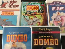 Walt Disney™ DUMBO 1st Diamond Classics Masterpiece COMPLETE VINTAGE COLLECTION