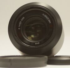Sony 50mm f/1.8 OSS E Mount Lens
