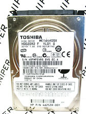 Toshiba 160GB MK1646GSX SATA (HDD2D92 F VL01 S) Laptop HardDrive WIPED & TESTED!