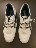 Asics Gel Tennis Trainers Size Uk 10.5 White