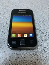 Samsung Galaxy y Young Phone S5360 Micro SD Slot 4GB Smartphone -Black