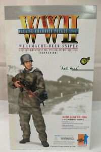 "Dragon WWII 70477 German Sniper ""Axel Hass"" - Falaise-Chambois 1944 NIB"