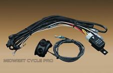 Kuryakyn Black Handlebar Mounted Driving Light Switch, Wiring & Relay Kit (2203)