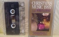 Christmas Music 1997 from Woman & Home inc The First Noel + Cassette Tape TESTED