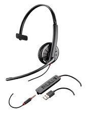 Plantronics Headset Blackwire USB C315.1-m Monaural Lync