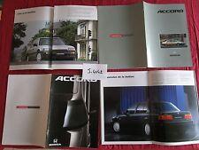 J.4042  / HONDA Accord : 2 catalogues en français 1989-1990 ?