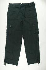 Tralia Sodi Women's Black Pants Trouser Cargo Size 11/12