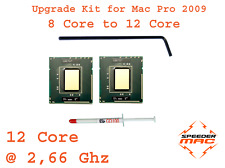 PROMO  Kit complet upgrade 12 Core 2,66 Ghz >Mac Pro 2009 Bi-Processeur 8 core