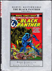 MARVEL MASTERWORKS BLACK PANTHER Vol. 1 Buckler Graham 2010 New Sealed HC OOP
