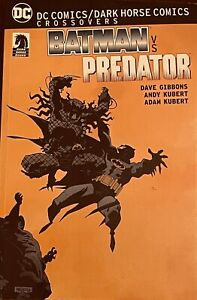 RARE DC / DARKHORSE COMICS GRAPHIC NOVEL TPB BATMAN VS PREDATOR 1ST PRINTING